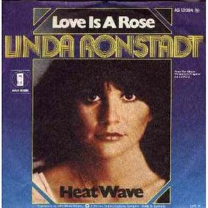 Heat Wave (Martha and the Vandellas song) - Image: Heat Wave Linda Ronstadt