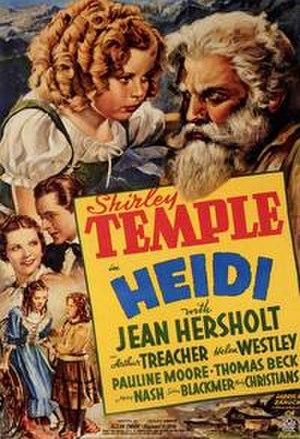 Heidi (1937 film) - Promotional Poster