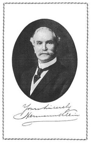 Herman Klein - Herman Klein