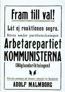 Communist Party of Sweden (1924) Political party in Sweden