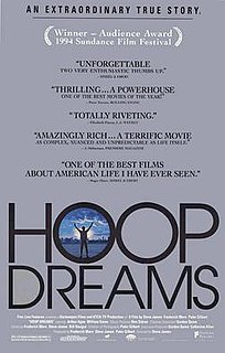 <i>Hoop Dreams</i> 1994 film by Steve James
