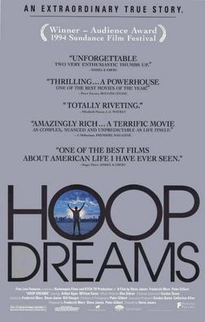 Hoop Dreams - Theatrical release poster