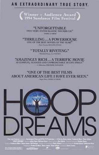 Hoop Dreams - Theatrical release poster