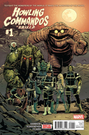 Howling Commandos of S.H.I.E.L.D. - Image: Howling Commandos of S.H.I.E.L.D. nr 1 cover
