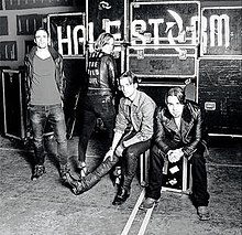 Image result for halestorm into the wild life