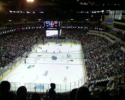 Intrust Bank Arena is a 15,000-seat multi-purpose arena located in Wichita. It is home to the Wichita Thunder of the Central Hockey League. - Wichita, Kansas