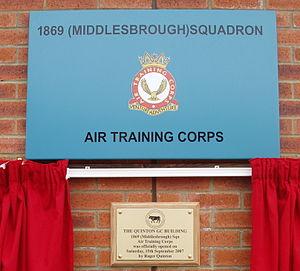 John Quinton - 1869 (Middlesbrough) Squadron ATC Headquarters
