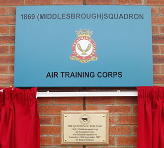John Quinton - 1869 (Middlesbrough) Squadron ATC Headquarters