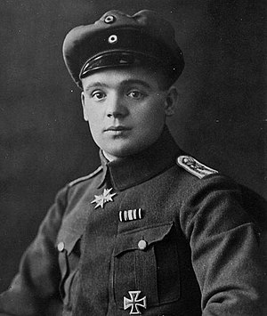 Julius Buckler - Julius Buckler, in dress uniform. Note the Pour le Merite at his throat, which was awarded 4 December 1917.