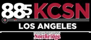 KCSN - Image: KCSN 88.5Los Angeles logo