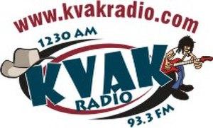 KVAK (AM) - Image: KVA Klogo