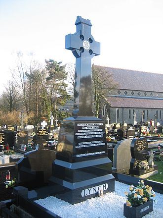 Kevin Lynch (hunger striker) - Gravestone