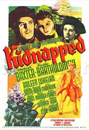 Kidnapped (1938 film) - 1938 US Theatrical Poster
