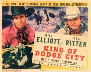 <i>King of Dodge City</i> 1941 film by Lambert Hillyer