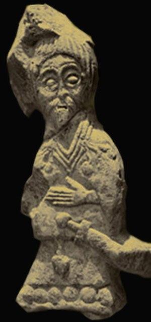 Croatian art - Croatian dignitary, 11th century, Knin area
