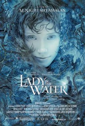Lady in the Water - Theatrical release poster