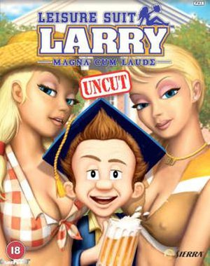 Leisure Suit Larry: Magna Cum Laude - Cover art for Leisure Suit Larry: Magna Cum Laude