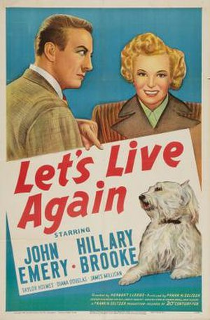 Let's Live Again - Theatrical release poster