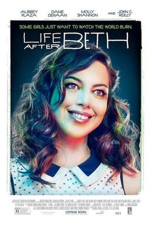 Life After Beth - Theatrical release poster