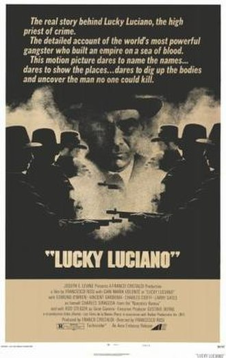 Lucky Luciano (film) - US film poster