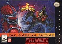 Picture of a game: Mighty Morphin Power Rangers: The Fighting Edition
