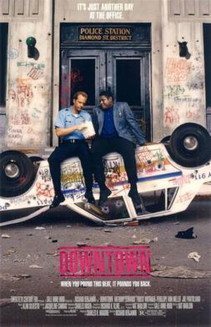 Downtown (film) - Theatrical movie poster