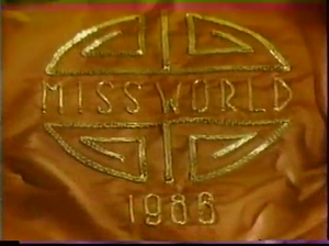 Miss World 1986 - Image: MW 1986 Thames TV