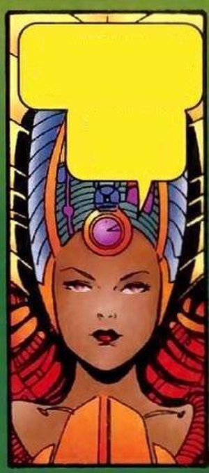 M (comics) - Know-It-All, Art by Chris Bachalo