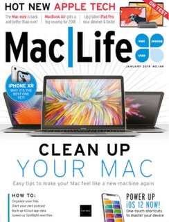 <i>MacLife</i> monthly magazine focused on Macintosh personal computers and Apple products