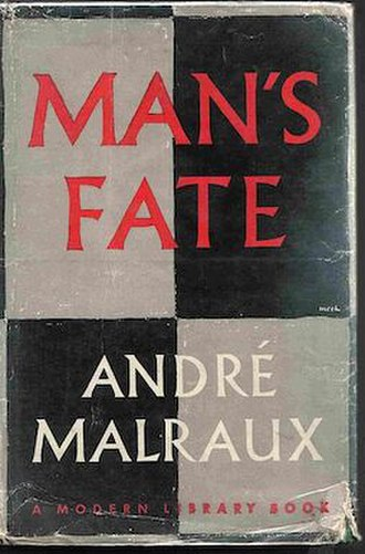 Man's Fate - Early Eng. trans. edition cover