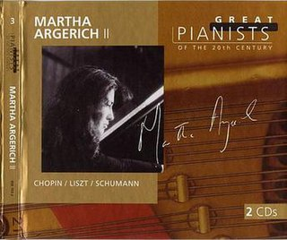 <i>Great Pianists of the 20th Century – Martha Argerich II</i> 1999 compilation album