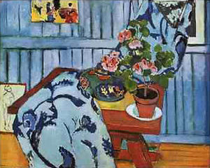 Pinakothek der Moderne - Henri Matisse Still Life with Geraniums 1910 (first painting of Matisse acquired by a public collection)