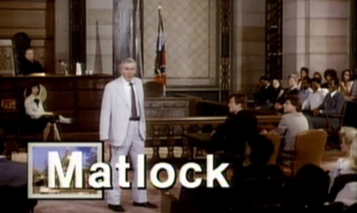 Picture of a TV show: Matlock