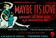 Maybe It's Love 1930 Poster.jpg