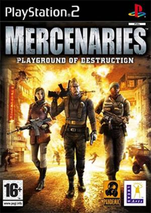 Mercenaries: Playground of Destruction - Image: Mercenaries Playground of Destruction Coverart