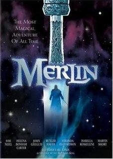 <i>Merlin</i> (miniseries) 1998 television miniseries directed by Steve Barron