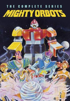 Mighty Orbots - Cover of the first VHS volume