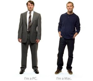 Get a Mac - Mitchell and Webb as PC and Mac