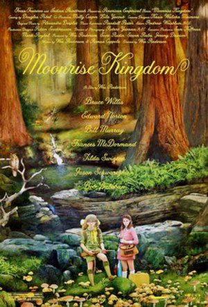 Moonrise Kingdom - Theatrical release poster