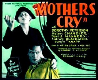 <i>Mothers Cry</i> 1930 film