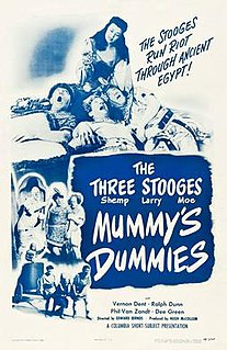 <i>Mummys Dummies</i> 1948 film by Edward Bernds
