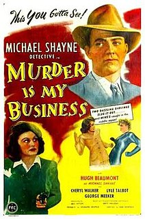<i>Murder Is My Business</i> 1946 film by Sam Newfield