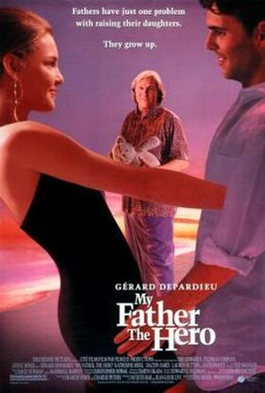 My Father the Hero (1994 film) - Theatrical poster
