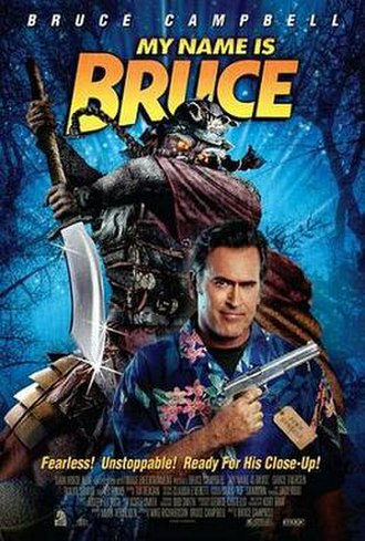 My Name Is Bruce - Promotional film poster
