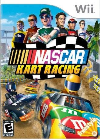 NASCAR Kart Racing - Image: NASCAR Kart Racing Cover