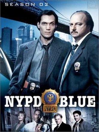 NYPD Blue (season 2) - Season 2 U.S. DVD Cover