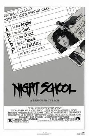 Night School (1981 film) - Image: Night School Film Poster