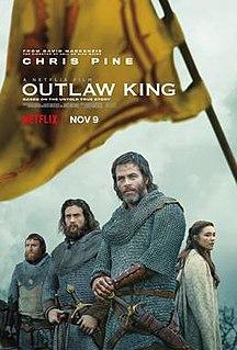 <i>Outlaw King</i> 2018 film by David Mackenzie