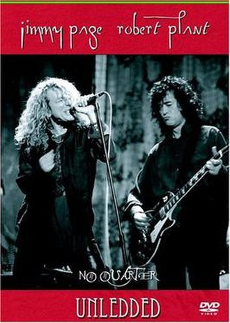 No Quarter: Jimmy Page and Robert Plant Unledded - Cover to the DVD