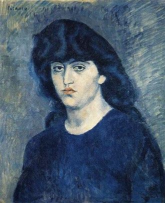 Portrait of Suzanne Bloch - Image: Picasso suzanne bloch
